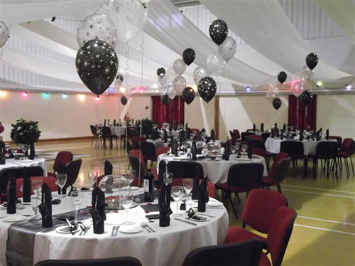 Украшения для свадебного зала шарами своими руками 40