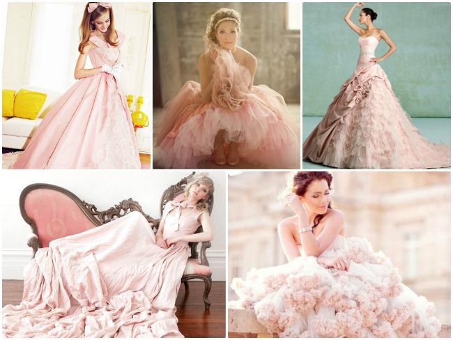 Приметы о цветах платьев на свадьбу
