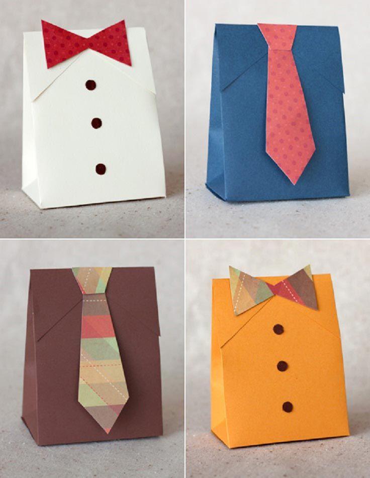 Как сделать подарок для мальчика из бумаги к дню рождения