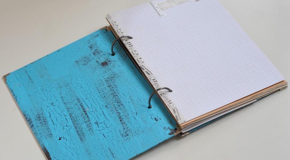 Дневник на кольцах своими руками