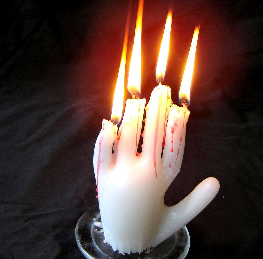 Как сделать со свечей