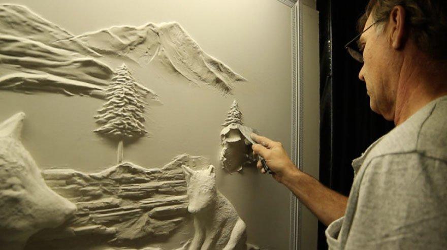 Объёмные картинки на стену своими руками